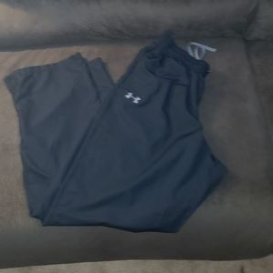 Under Armour warm up pants.